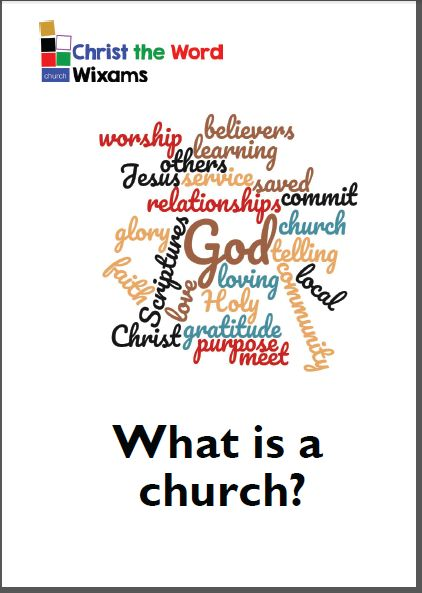 What is a church Booklet