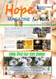 Hope magazine for kids