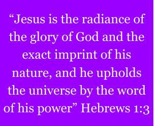 Hebrews 1v3
